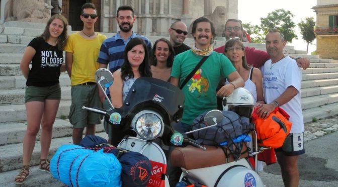 Day 1, Ancona – Tarcento, 424Km (263 miles)