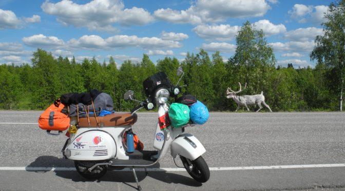 Day 9, Rovaniemi – Alta, 497Km (309 miles)